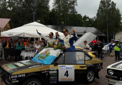 The Lahti Historic Rally is on the verge of changes