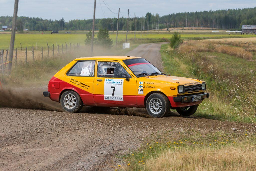 Lahti Historic Rally Tulokset