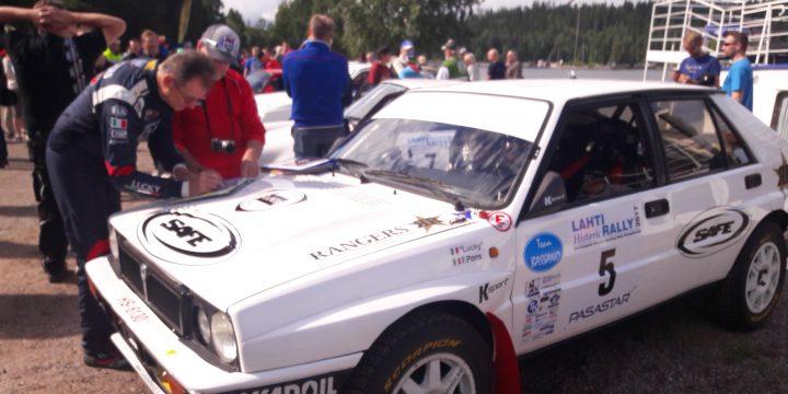 Lahti Historic Rally ja Lammi-ralli keräsivät mukavasti ilmoittautuneita